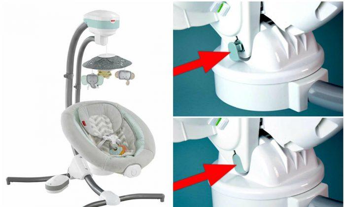 Fisher Price Recalls Baby Cradle Swings Over Fall Hazard