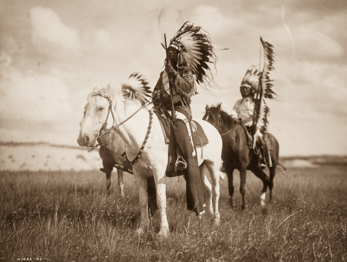 Sioux chiefs, 1905. (Edward S. Curtis/Library of Congress)
