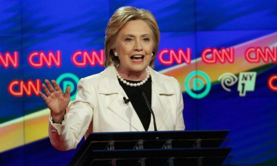 Clinton Repeatedly Dodges Wall Street Transcript Question