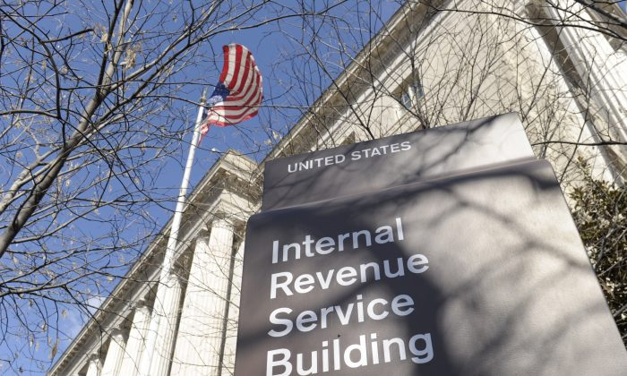 The Internal Revenue Service (IRS) building in Washington, D.C., on March 22, 2013. (AP Photo/Susan Walsh)