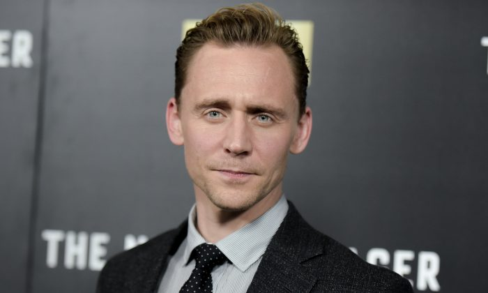 """In this April 5, 2016 file photo, Tom Hiddleston attends the LA Premiere of """"The Night Manager,"""" in Los Angeles. The six-part miniseries premieres Tuesday, April 19, at 10 p.m. ET on AMC (Photo by Richard Shotwell/Invision/AP, File)"""