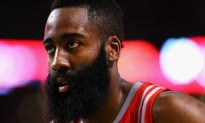 James Harden: Rockets Shooting Guard Allows Warriors Player to Have Free Layup on Fast Break