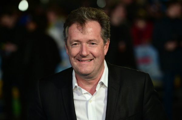 British journalist and television personality Piers Morgan
