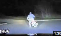 Moped Man Leads Police on Slow Speed Chase