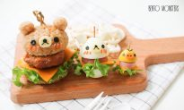 Mom Cooks Incredibly Cute Lunches for Her Kids