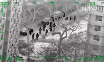 Video: Aerial Footage of NYPD, FBI Conducting Massive Narcotics Raid in East Harlem