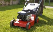 Old Man Collapses While Mowing Lawn, His EMT Mowed the Rest for Him
