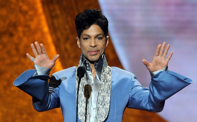 Prince speaks onstage at the 42nd NAACP Image Awards held at The Shrine Auditorium in Los Angeles, Calif., on March 4, 2011. (Kevin Winter/Getty Images for NAACP Image Awards)