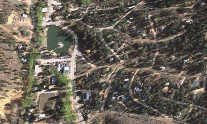 The town of Green Mountain Falls  (Google Maps)