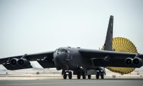 Watch a B-52 Airstrike Destroy ISIS Weapons Storage Facility