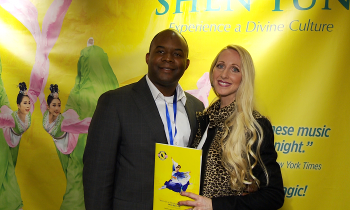"""Writer Alisha Joseph described Shen Yun as """"astonishing"""" and """"breathtaking"""" after taking in the performance on April 21, 2016, at the Sony Centre in Toronto. (NTD Television)"""