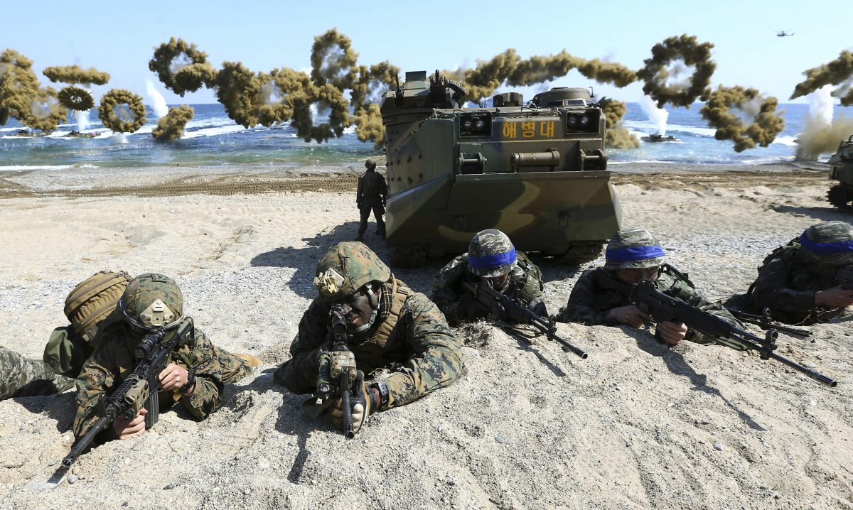 US, South Korea Postpone Military Exercises As Virus Cases Spike to Nearly 1,600