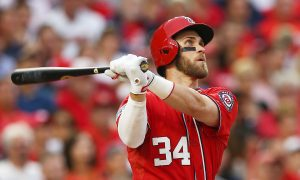 Bryce Harper: Nationals All-Star Took a Selfie Behind a Unsuspecting Young Fan at the Smithsonian