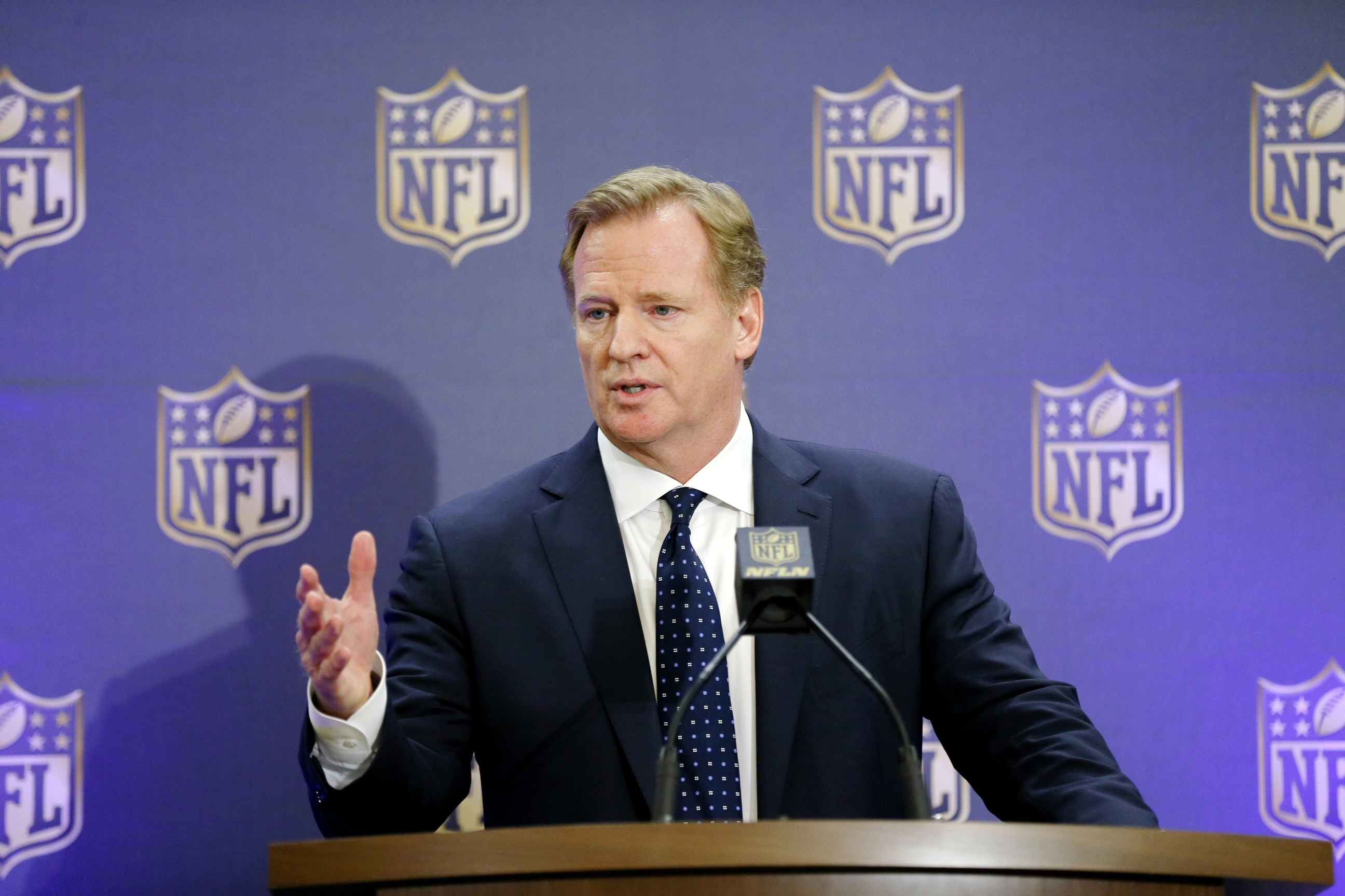 NFL Chief Goodell Says League Conducting 'Thorough' Investigation Into Patriots