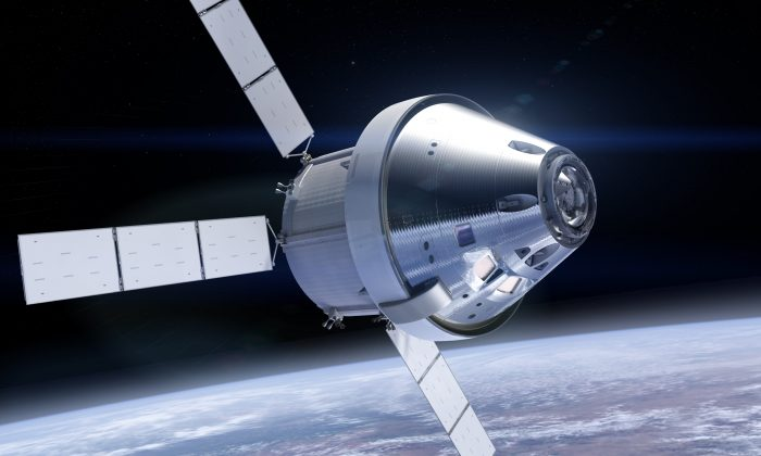 NASA's Orion spacecraft will be able to take humans further away from Earth than ever before. (NASA)