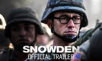 Watch Trailer of Oliver Stone Thriller on NSA Whistleblower Edward Snowden, Portrayed by Joseph Gordon-Levitt