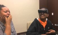 Legally Blind Boy Sees His Mother for the First Time After 12 Years