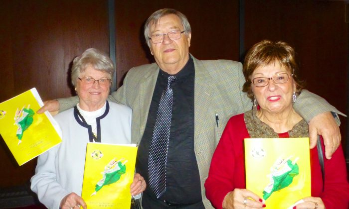 Andree Valiquette, Herbert Mikowitz, and Erna Loh shared their thoughts on Shen Yun after seeing the performance Sunday afternoon, May 1, 2016, at Place des Arts in Montreal. (Sonia Rouleau/Epoch Times)