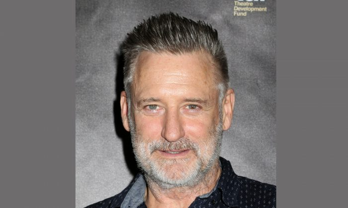 FILE - In this May 10, 2015 file photo, actor Bill Pullman attends the 30th Annual Lucille Lortel Awards in New York. (Photo by Greg Allen/Invision/AP, File)