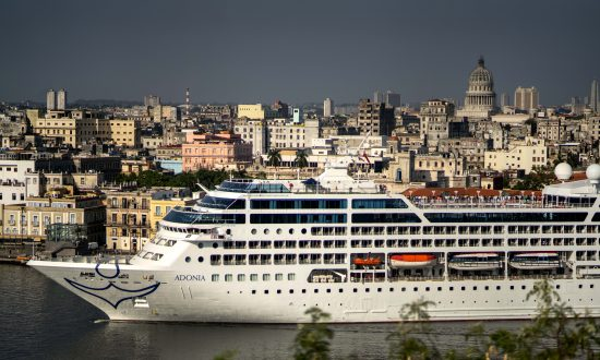 First US Cruise Ship Docks in Havana, Cuba, After Decades of Tense Relations