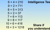 This Is the 'Intelligence Test' That's Blowing Up on Facebook