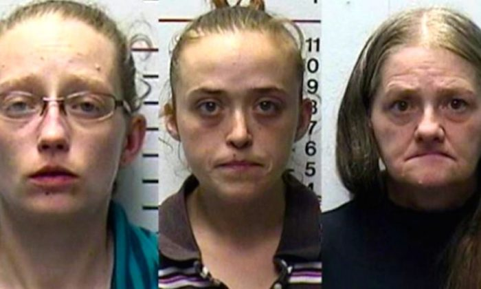 Rachael Bostian, Theresa Hawkins-Stephens and Ramona Bostian (Police handout)