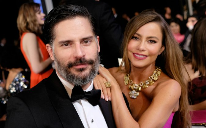 Actors Joe Manganiello (L) and Sofia Vergara in the audience during The 22nd Annual Screen Actors Guild Awards at The Shrine Auditorium on January 30, 2016 in Los Angeles, California.(Dimitrios Kambouris/Getty Images for Turner)