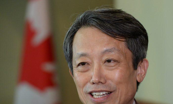 UN Representative for Disarmament Kim Won-soo in Ottawa on May 3, 2016. (The Canadian Press/Sean Kilpatrick)