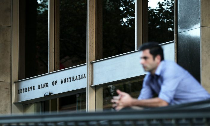 The Reserve Bank of Australia headquarters  in Sydney on on May 5, 2015.  (Mark Metcalfe/Getty Images)