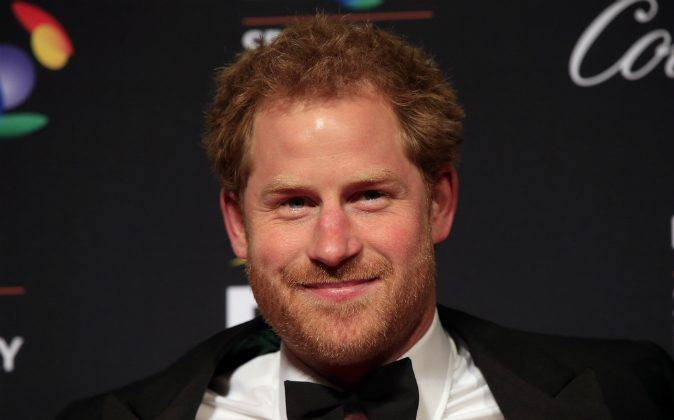 Prince Harry attending the BT Sport Industry Awards 2016 at Battersea Evolution  in London, England on April 28, 2016. (Jonathan Brady--WPA Pool/Getty Images)