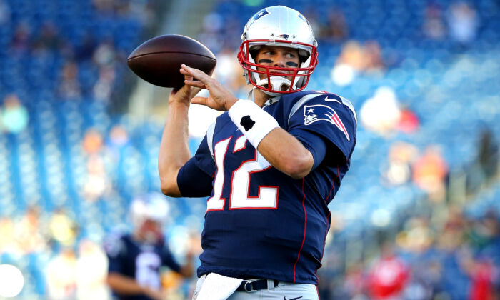 Tom Brady of the New England Patriots. (Maddie Meyer/Getty Images)