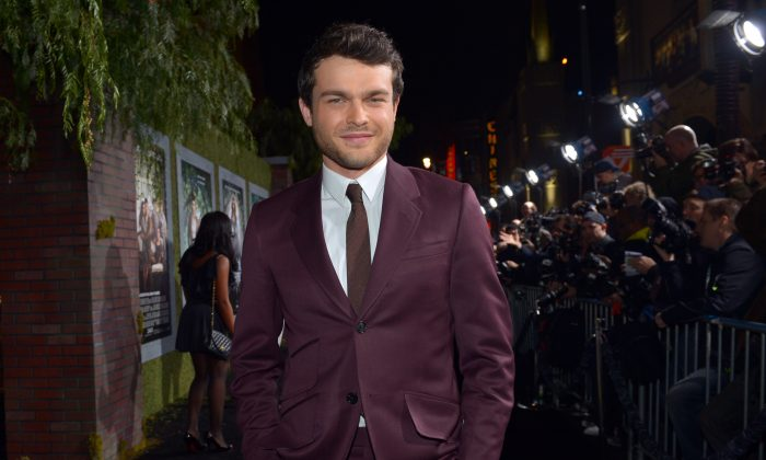 """HOLLYWOOD, CA - FEBRUARY 06:  Actor Alden Ehrenreich attends the Los Angeles premiere of Warner Bros. Pictures' """"Beautiful Creatures"""" at TCL Chinese Theatre on February 6, 2013 in Hollywood, California.  (Photo by Alberto E. Rodriguez/Getty Images)"""