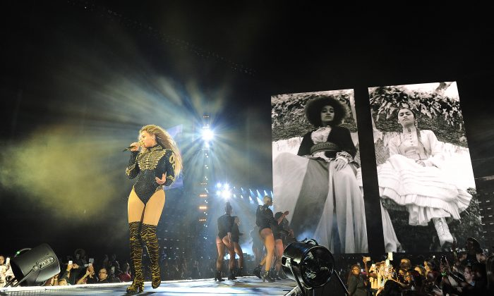 Beyonce performs during the opening night of the Formation World Tour at Marlins Park on April 27, 2016 in Miami, Florida. (Photo by Frank Micelotta/Parkwood Entertainment via Getty Images)