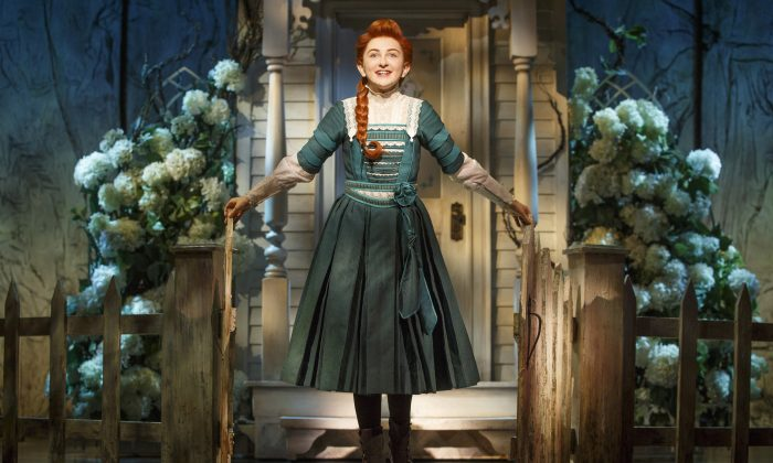 """Sarah Charles Lewis as Winnie Foster in """"Tuck Everlasting,"""" now on Broadway. (Joan Marcus)"""