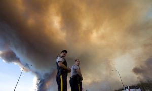 Officials Fear Massive Alberta Wildfire Could Double in Size