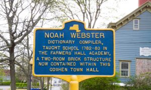 What the Webster Dictionary and Goshen Have in Common
