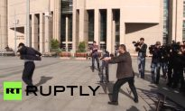 Video: Turkish Journalist Survives Assasination Attempt Before Being Sentenced to 5 Years in Jail