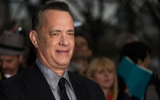 """Tom Hanks attends the U.K. premiere of """"A Hologram For The King"""" at BFI Southbank in London, England, on April 25, 2016. (Ian Gavan/Getty Images)"""