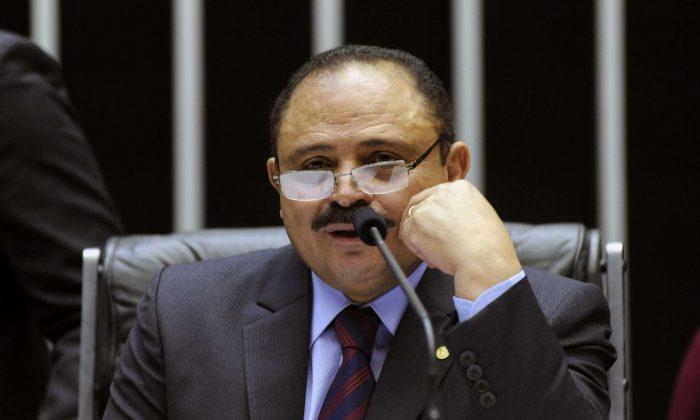 The acting speaker of Brazil's lower house of Congress, Waldir Maranhão (PP-MA). (Luis Macedo/Brazilian Lower House)