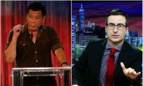 John Oliver Calls Philippines Presidential Candidate, Rodrigo Duterte, 'Trump of the East'