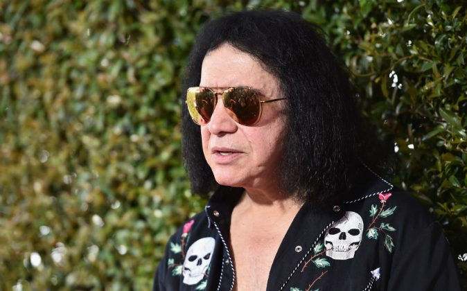 Recording artist Gene Simmons of KISS attends the John Varvatos 13th Annual Stuart House benefit presented by Chrysler with Kids' Tent by Hasbro Studios at John Varvatos on April 17, 2016 in Los Angeles, California. (Photo by Alberto E. Rodriguez/Getty Images)