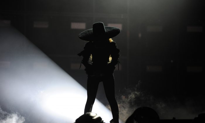 In this handout photo provided by Parkwood Entertainment, Beyonce performs during the opening night of the Formation World Tour at Marlins Park on April 27, 2016 in Miami, Florida. (Photo by Frank Micelotta/Parkwood Entertainment via Getty Images)