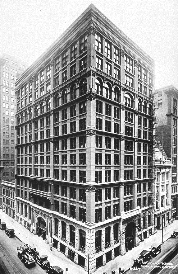 Home Insurance building. (Library of Congress, Public Domain)