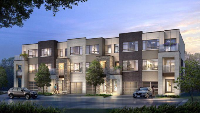 A rendering of Station West stacked housing in Burlington. (Courtesy of ADI Development Group)