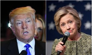 Trump and Clinton: Dead Heat in Three Swing States