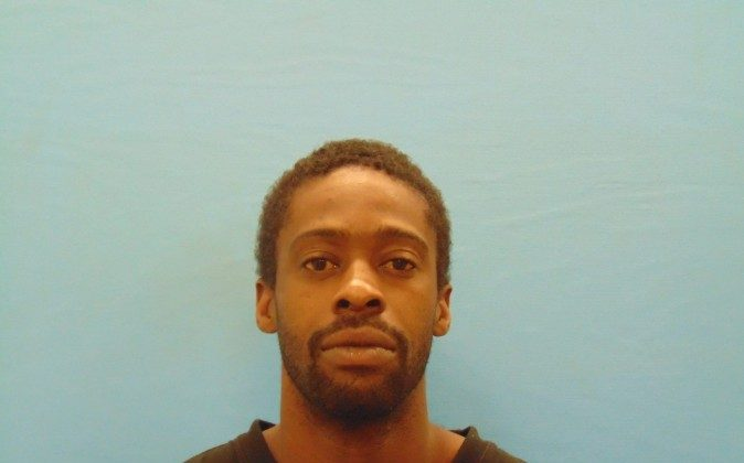Deandre Dorch turned himself in to Sheriff's deputies at the jail Tuesday around 11:15 p.m. (Bexar County Sheriff's Office photo)
