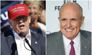 Rudy Giuliani Says Trump Shouldn't Participate in Next Debates