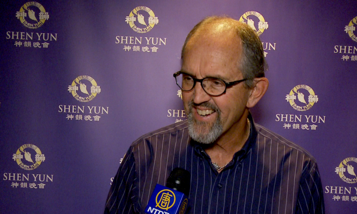 Jim Oliver, Ward 4 councillor for the Norfolk County in Southwestern Ontario, at the Shen Yun performance at Hamilton Place Theatre on May 11, 2016. (NTD Television)