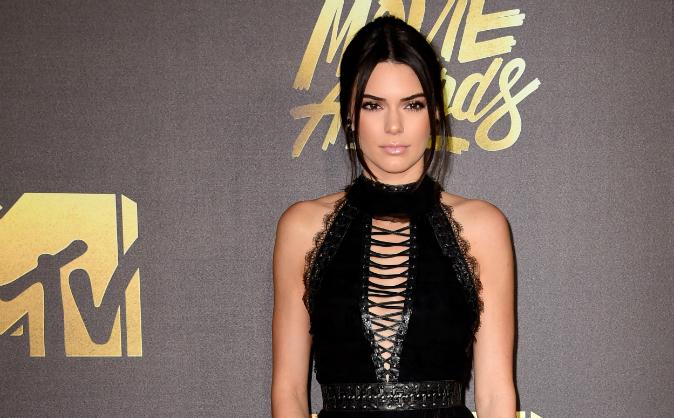 Model Kendall Jenner attends the 2016 MTV Movie Awards at Warner Bros. Studios on April 9, 2016 in Burbank, California. (Frazer Harrison/Getty Images)