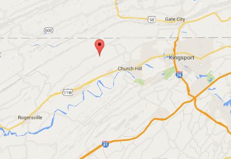 Gravely Valley Rd, Surgoinsville, Tenn. (Screenshot of Google Maps)